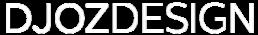 Djozdesign - logo wit - vaste partner Ivo Vrancken Beeldmaker